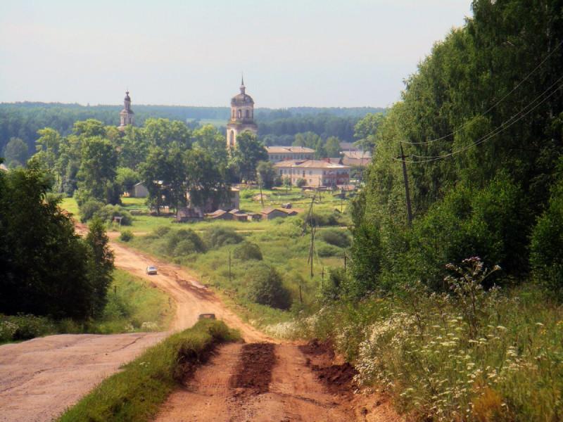 Кировская область, Куменский район, с. Рябиново.