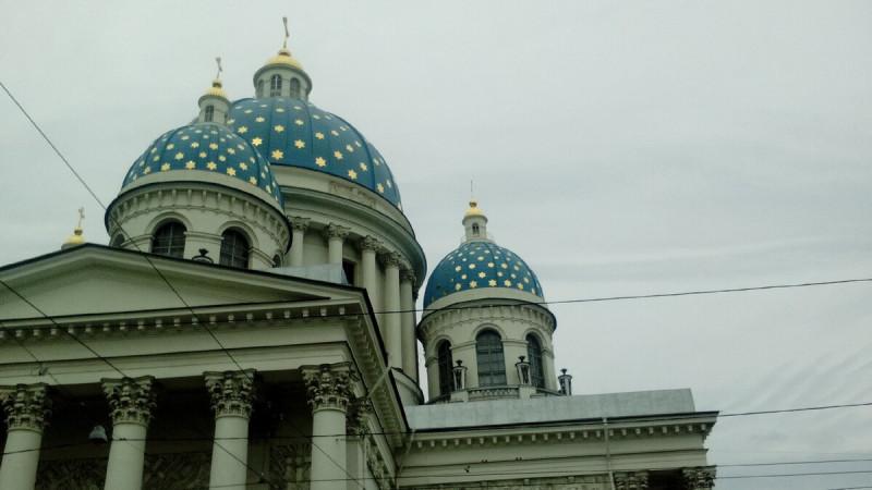 Троицкий собор, Воскресенская церковь и Воскресенский монастырь.