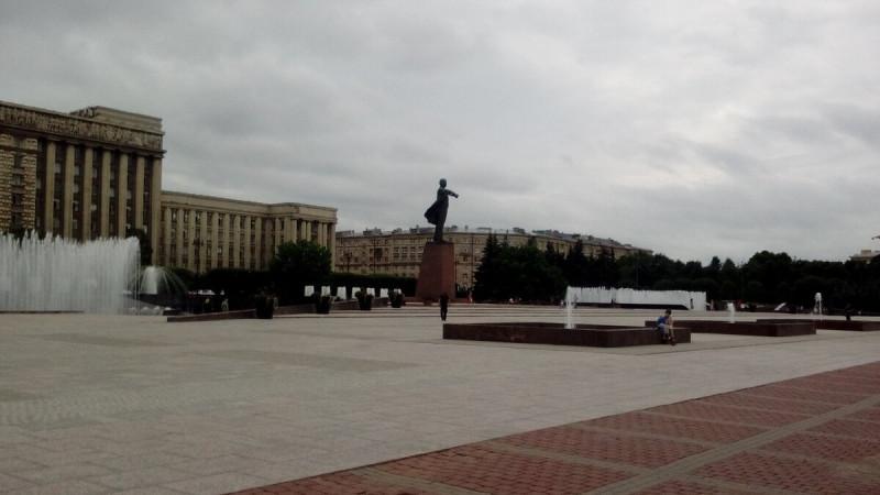 Фонтаны на Московском проспекте