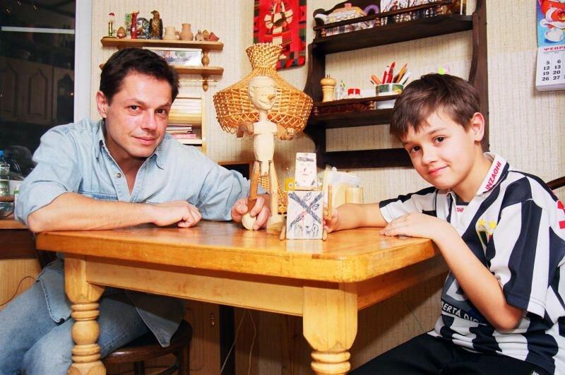 Игорь Скляр с сыном Василием.