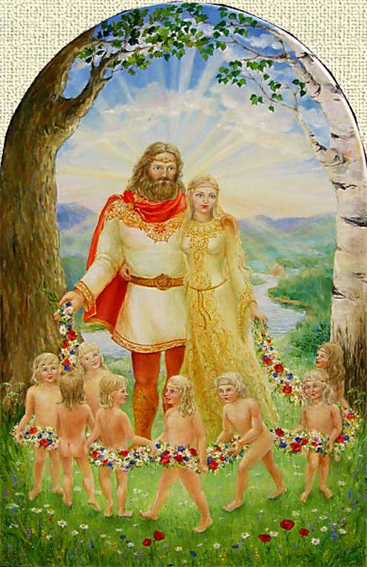 Царевна-Лебедь и князь Гвидон вполне могли быть этой парой.