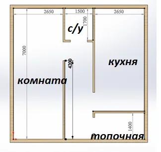 примерная схема нового дома