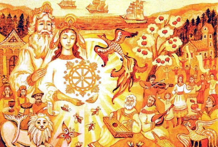 Славянская мифология и русские сказки дают образы доброй и ладной культуры