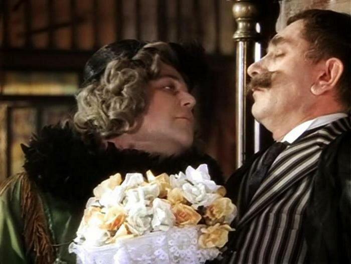 Я тебя поцелую...потом...как-нибудь...