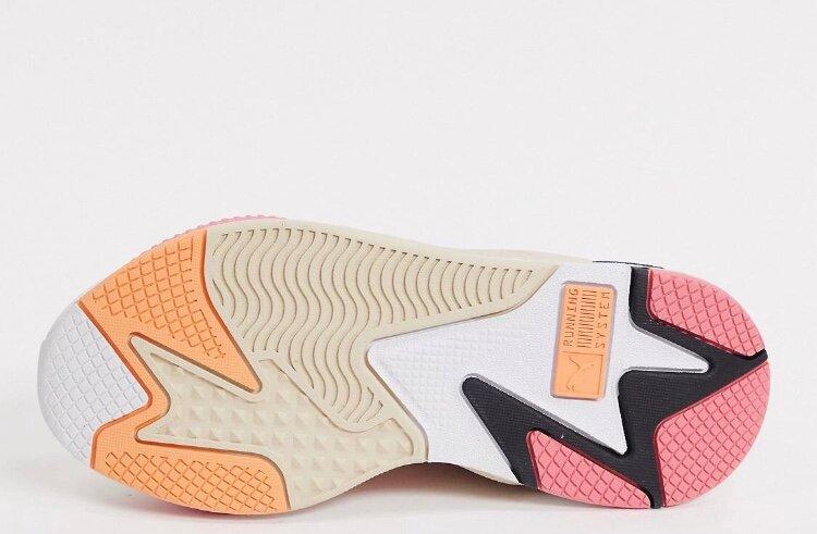 Кроссовки с розовыми вставками Puma RS-X3 Mesh Pop