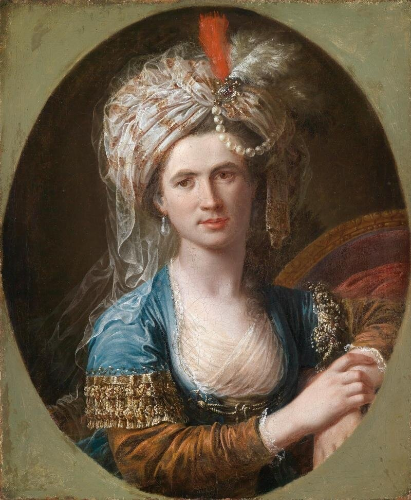 Портрет шевалье Шарля д'Эона. Источник: Википедия