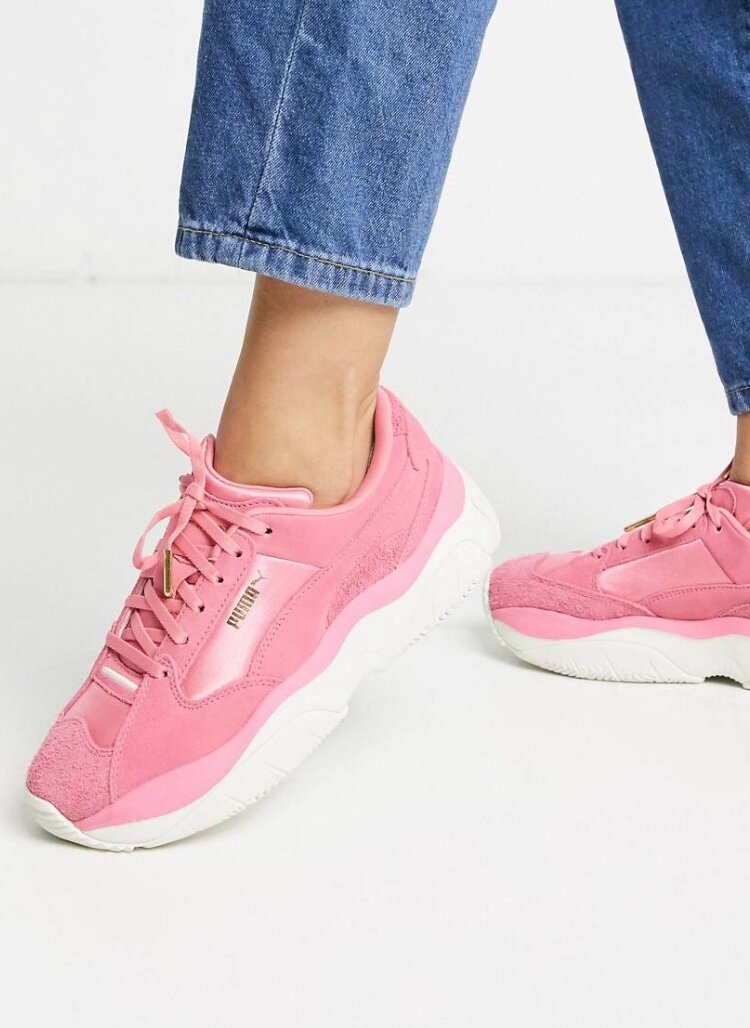 Розовые кроссовки Puma STORM.Y