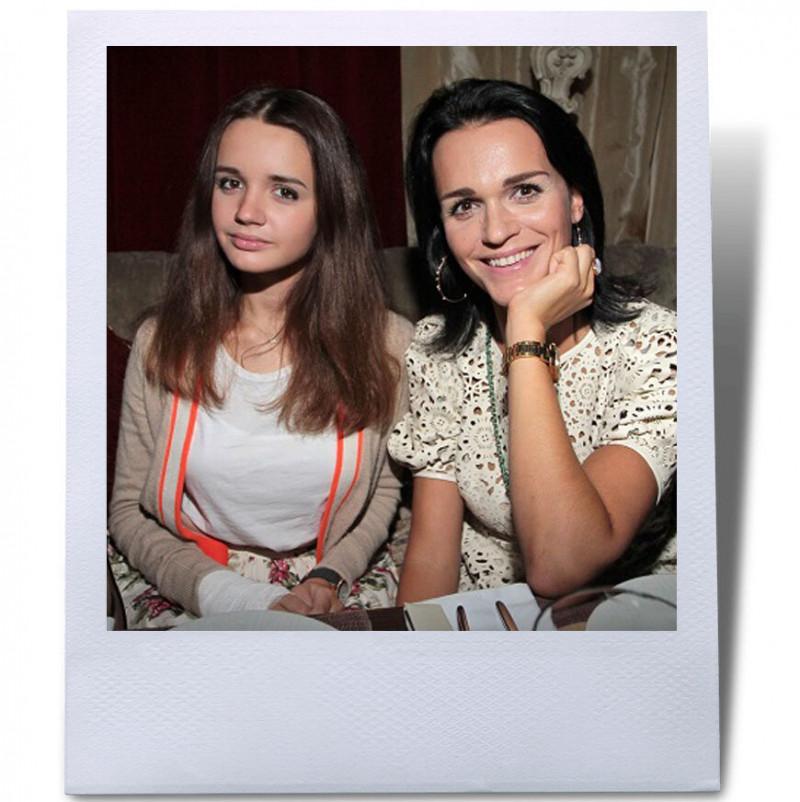 Источник: star-magazine.ru Слава с дочерью Александрой