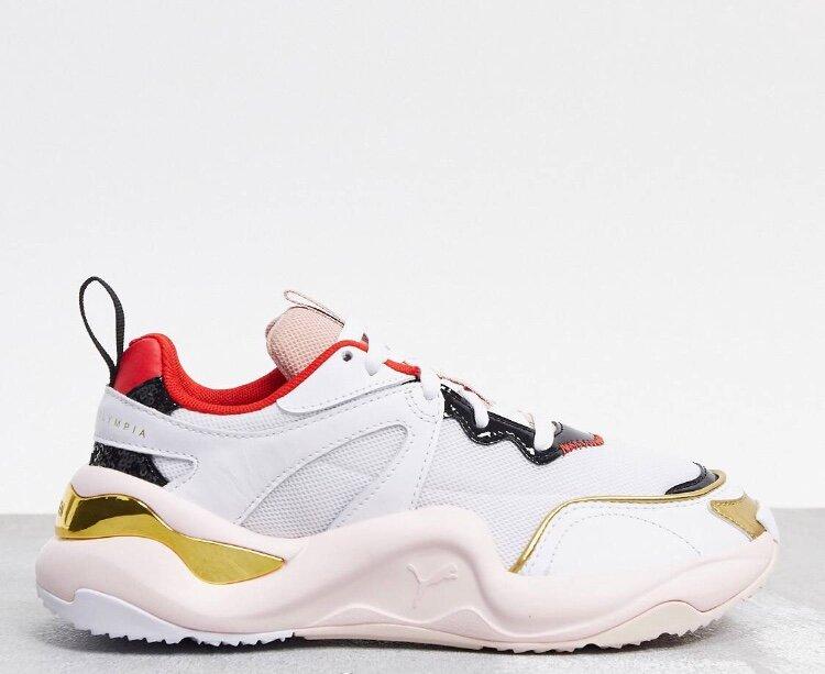 Белые кроссовки Puma & Sharlotte Olympia