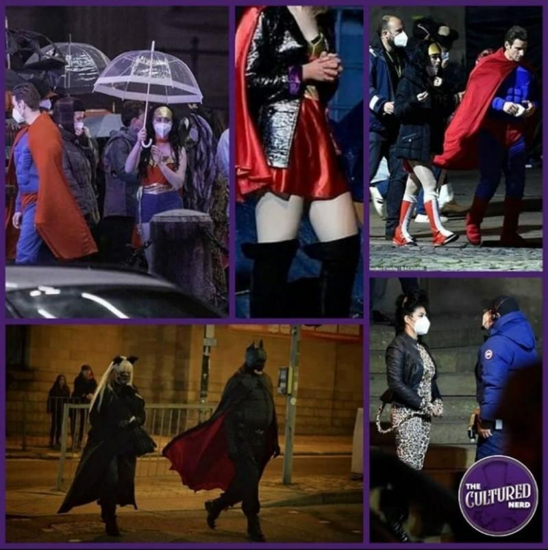 Съёмки Бэтмена 2022(источник: The Cultured Nerd)