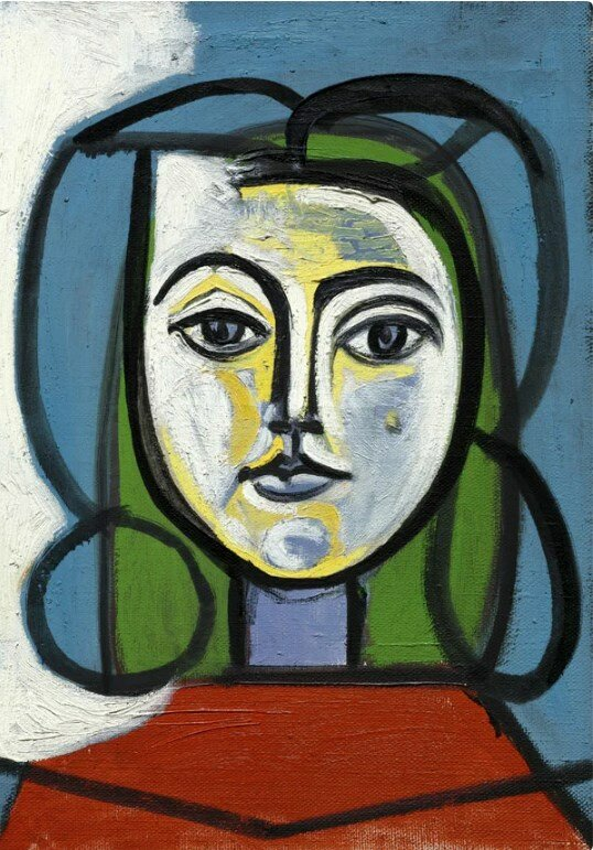 «Голова женщины, 1946 год