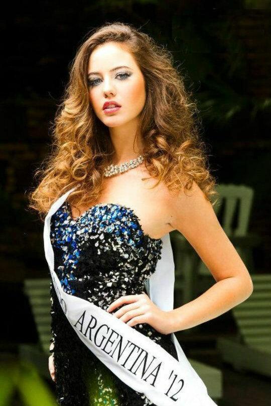 Мисс Аргентина 2012 г. Josefina Herrero.