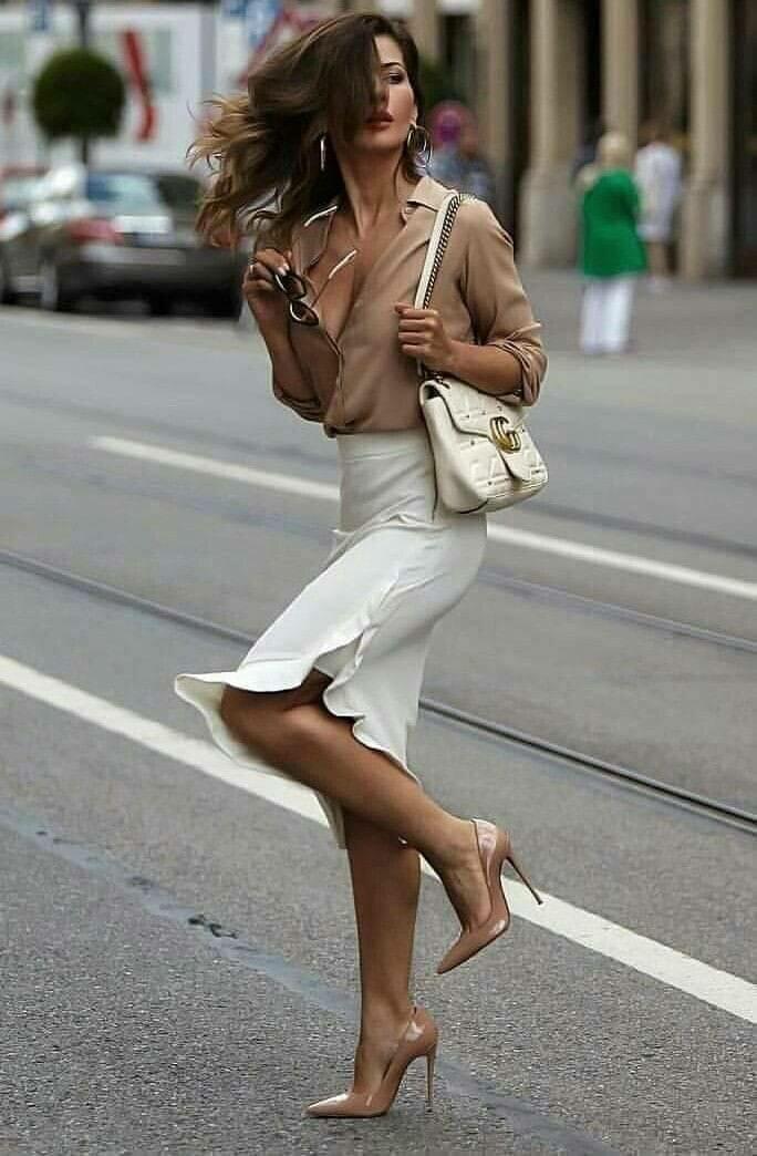 Женская красота на улице