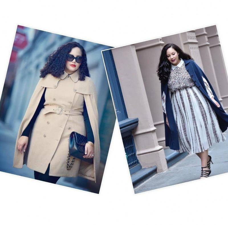 Модные луки для женщин пышных форм! Обзор в формате фото отчета + много фото