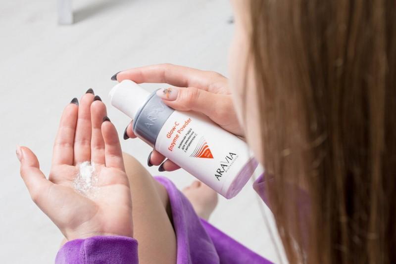 Энзимная пудра ARAVIA Professional с витамином C Glow-C Enzyme Powder