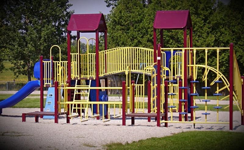 В моем детстве таких площадок не было