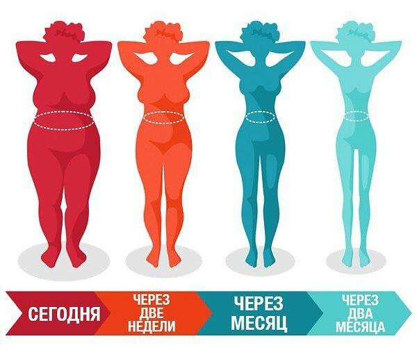 Следуя этим правилам, ты сможешь легко похудеть (часть 1)