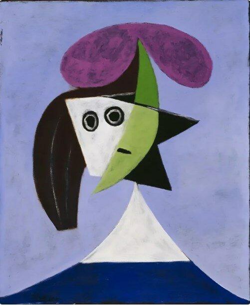 «Женщина в шляпе», 1935 год
