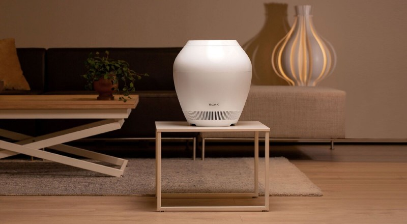 Знакомьтесь – воздухоочиститель-увлажнитель Rain от BORK. Самый красивый в мире по версии жюри международных дизайнерских премий.