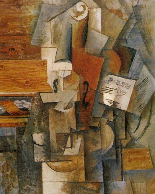 «Скрипка (Я люблю Еву)», 1912 год