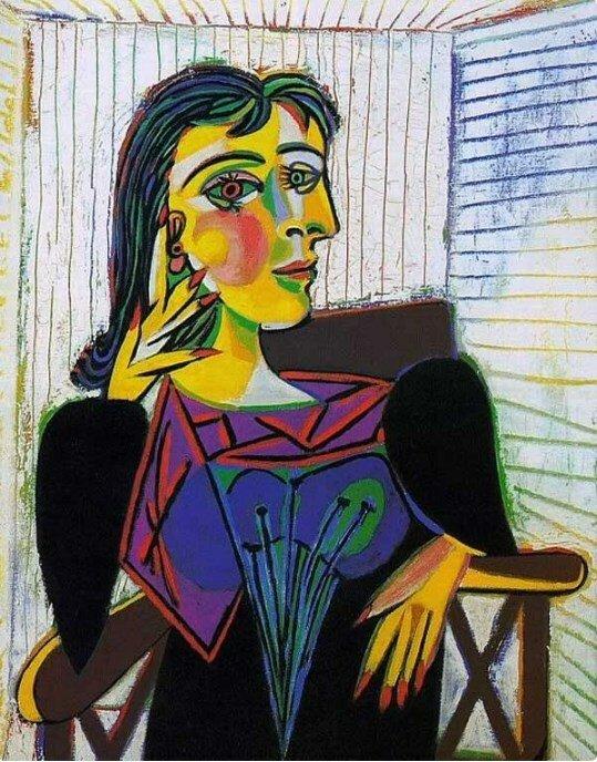 «Портрет Доры Маар», 1937 год