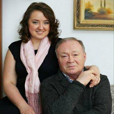 Юрий и дочь Александра