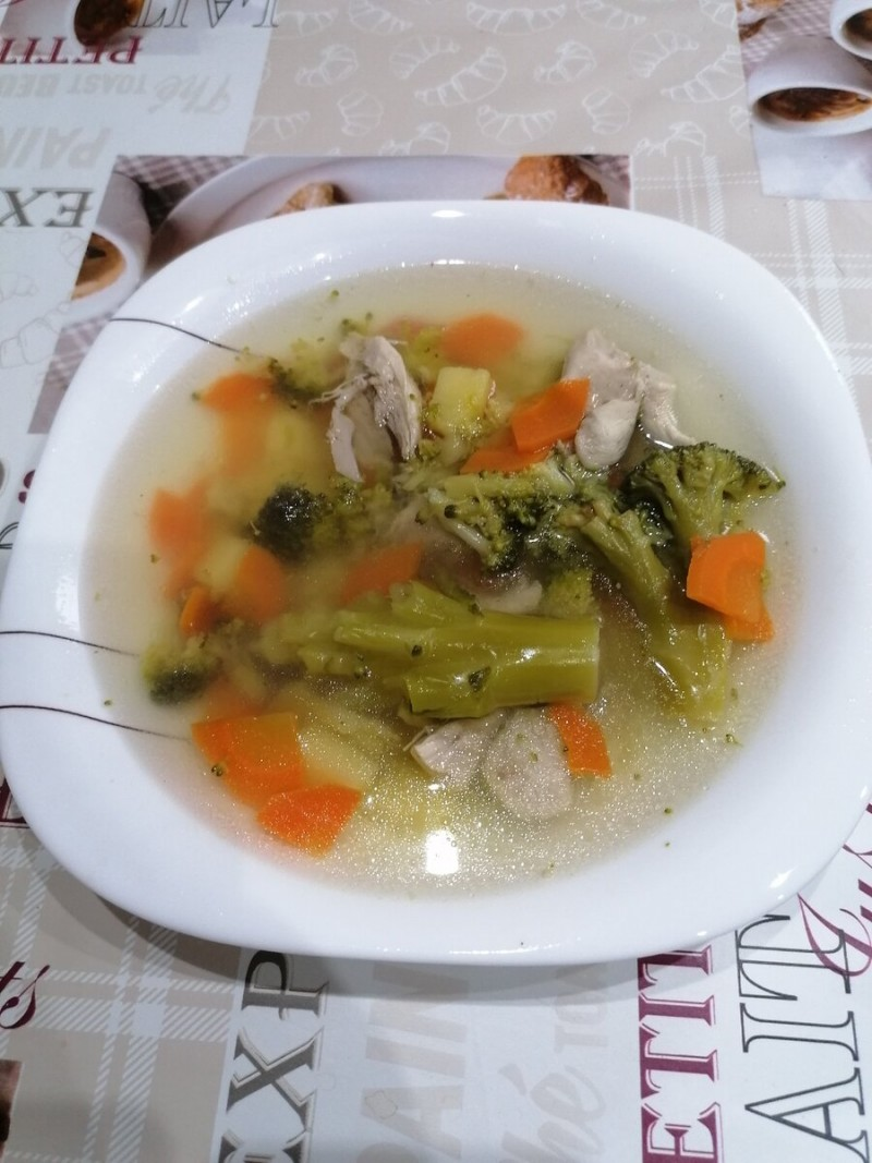 Суп на первое.