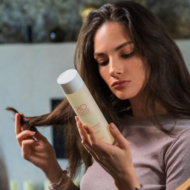 Мягкий шампунь для всех типов волос OK BEAUTY FOAM & GENTLE