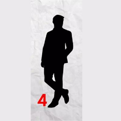 Тест для женщин: Выберите мужской силуэт и узнайте, что наиболее важно для вас в отношениях