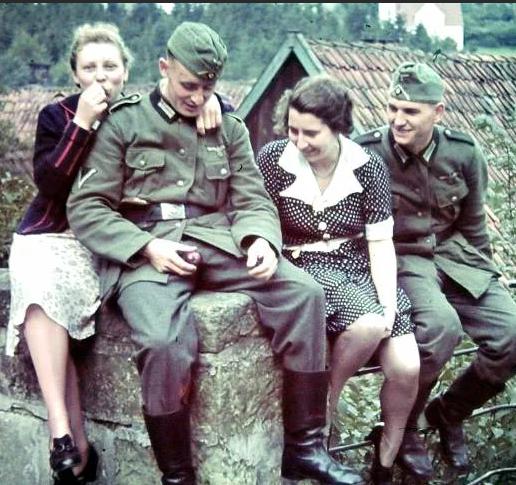 Немецкий солдаты был удивлен поведением женщин на украине