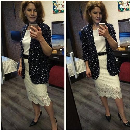 Нарядные образы для женщин 50+. Как выглядеть современно, а не дамисто.