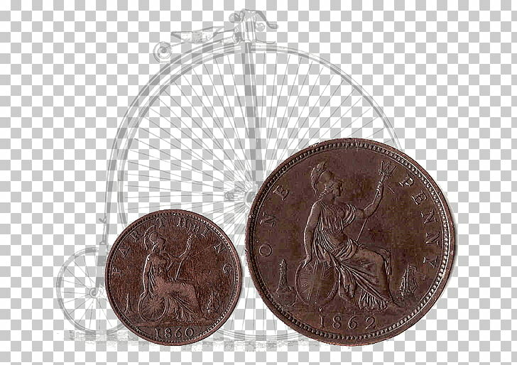 Фартинг и пенни — фото из общего доступа