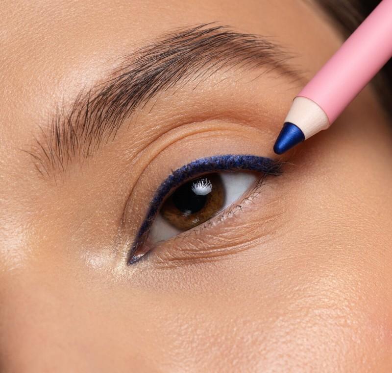 Стойкий карандаш для глаз OK BEAUTY СOLOR SALUTE SLIDE & STAY В ОТТЕНКЕ COBALT