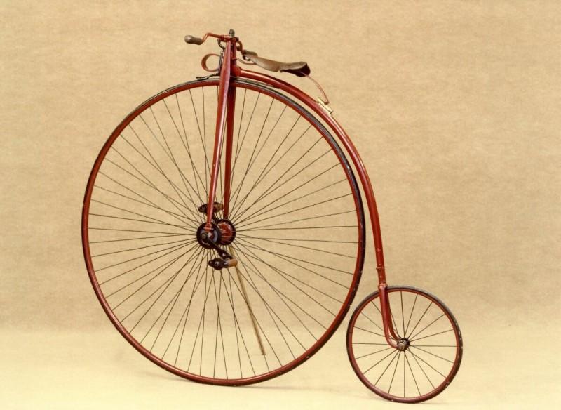 Прадедушка нашего велосипеда — фото из общего доступа