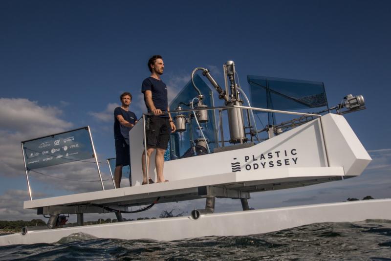 Задача проекта — очистить океан и разработать новые технологии утилизации пластиковых отходов в помощь развивающимся странам