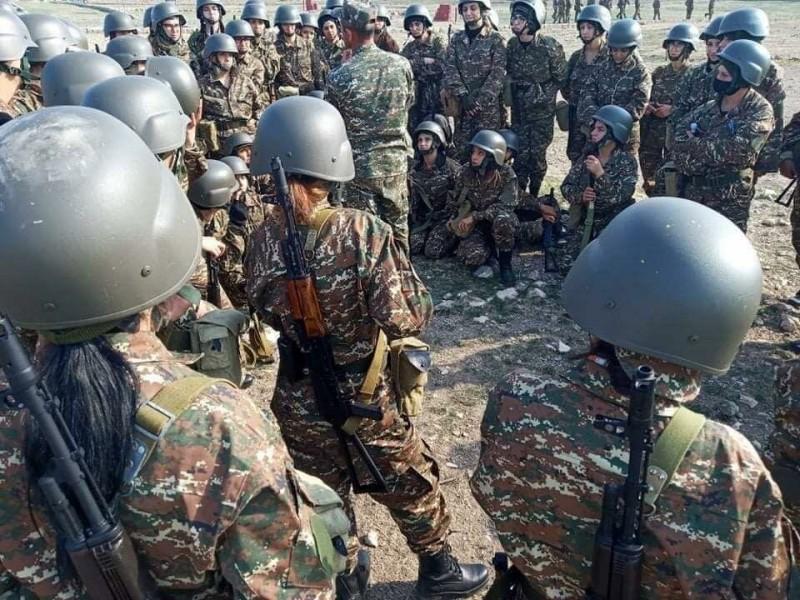 Армянский женский добровольческий батальон. Источник фото - https://clck.ru/RgWpN