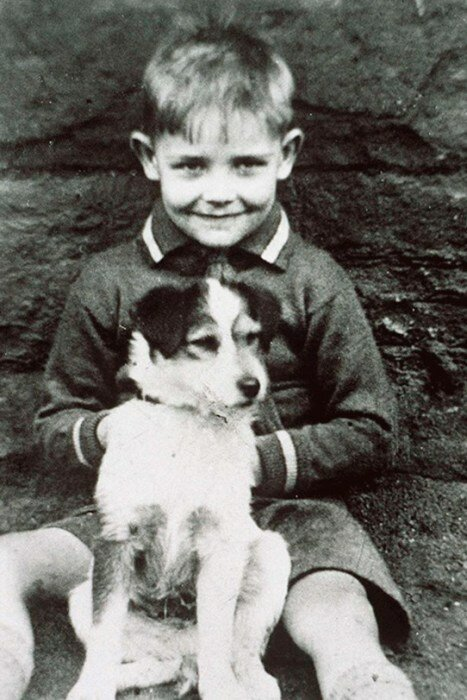 Шон Коннери в детстве. / Фото: www.2aktera.ru