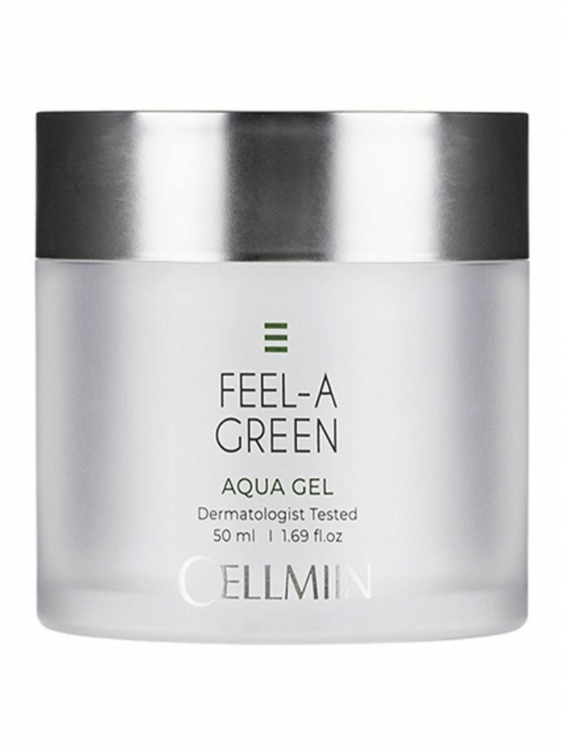 Аква гель для лица Feel-A-Green Aqua Gel, CELLMIIN