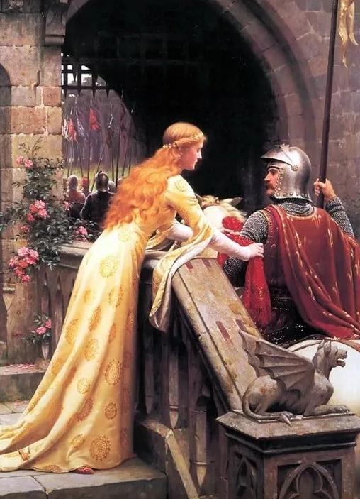 Идеал красоты в разные эпохи, ч.2, Средние века