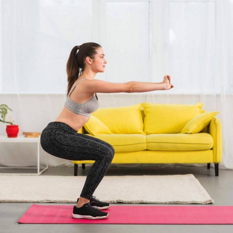 Техника выполнения приседаний без веса