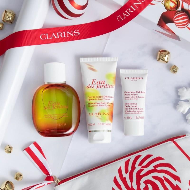 Коллекция средств ароматического ухода Clarins создана, чтобы подарить вам прилив хорошего настроения и изысканный аромат эфирных масел