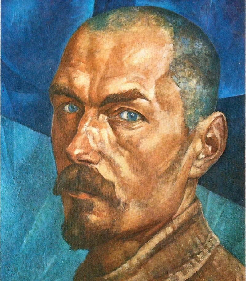 Автопортрет, 1918 год
