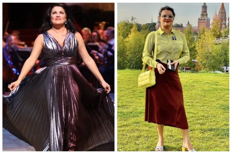 Анна Нетребко похудела на 10 кг и помолодела: простая диета певицы