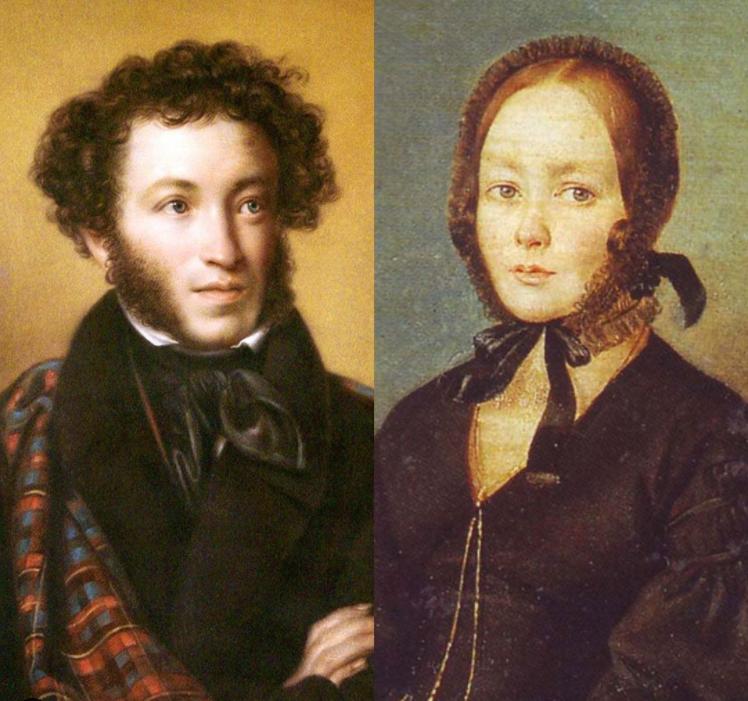 А.С. Пушкин и А.Керн