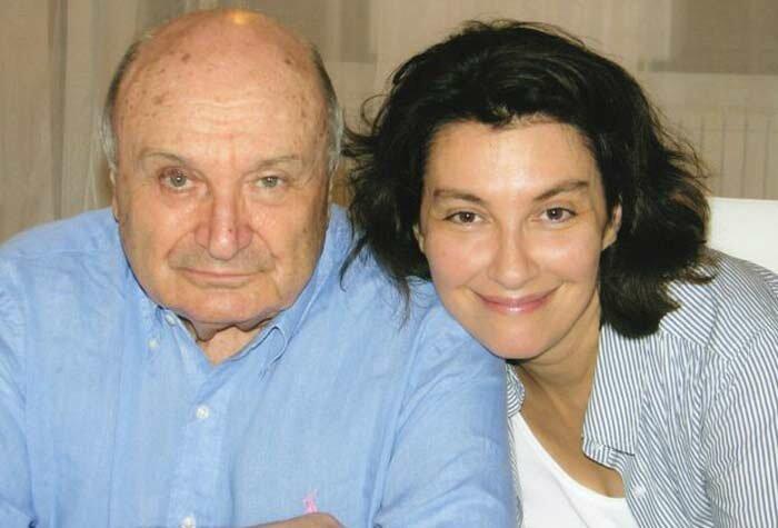 Михаил Жванецкий со своей женой