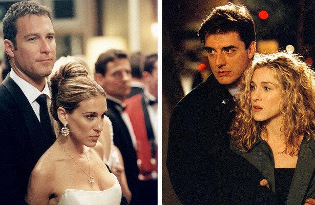 Лучший любовный треугольник 90-х. Кадры из сериала «Секс в большом городе»