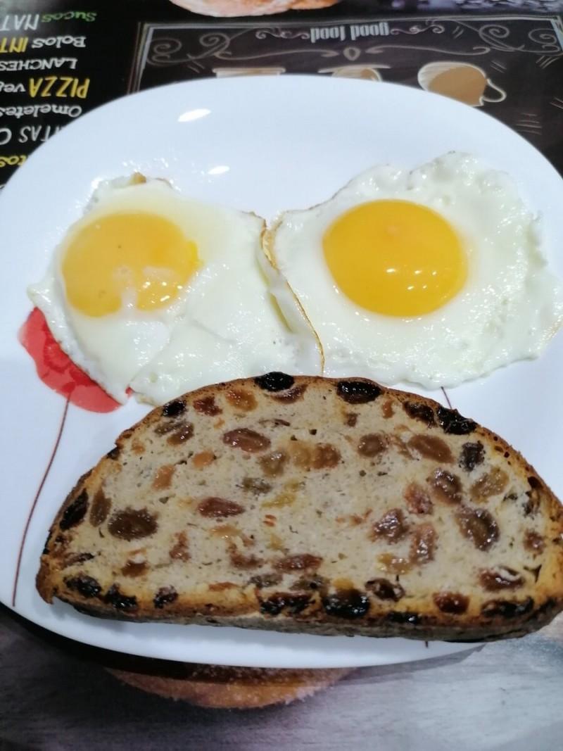 Мой обычный завтрак.