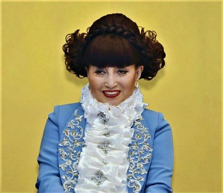 Японская актриса Куроянаги Тэцуко (88 лет). Фото из свободного источника интернета