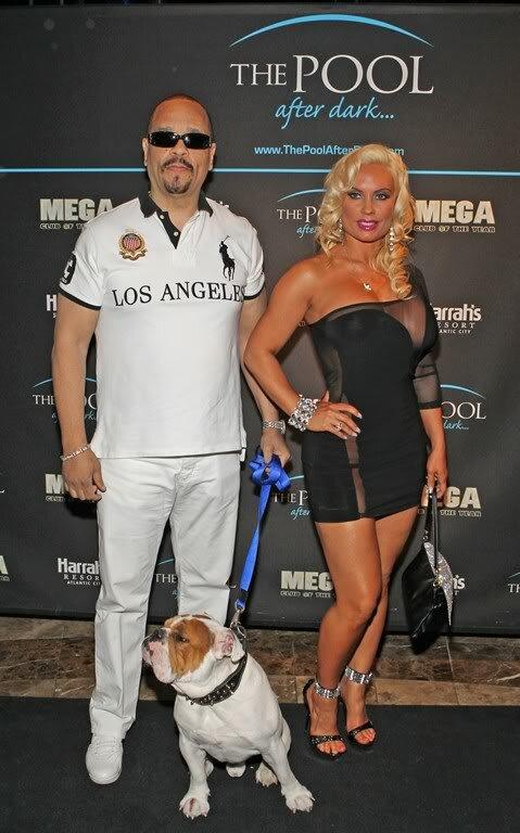 Ice-T с женой,
