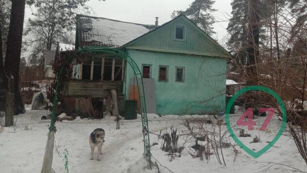 Дом, где живет Маргарита Юдина с детьми.